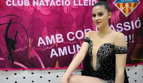 La lleidatana Marta Cebollero va representar el CN Lleida al torneig.