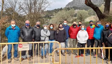 Empresaris de la Vall d'Àger temen que el congost continuï tancat durant mesos, la qual cosa afecta els seus negocis de turisme.