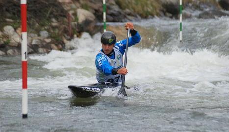 L'urgellenc Miquel Travé va ser el més ràpid en canoa.