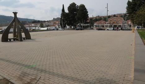 La plaça Joaquín Torres, que acollirà demà el mercat.