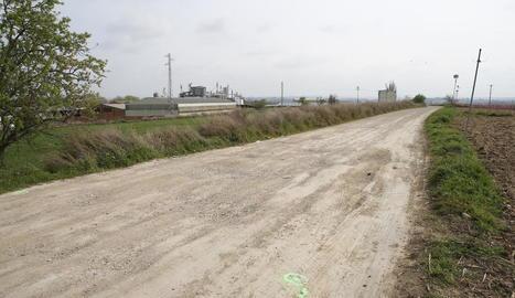 L'accident va tenir lloc diumenge a la tarda al camí rural les Fites a Alcarràs.