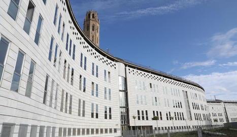 Imatge d'arxiu de la seu dels jutjats de Lleida al Canyeret.