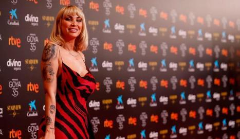 L'actriu Daniela Santiago, que va interpretar la Veneno, principal víctima de les crítiques.