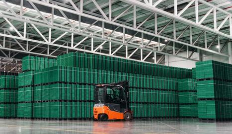 Instalaciones del proveedor de elementos de logística de Mercadona