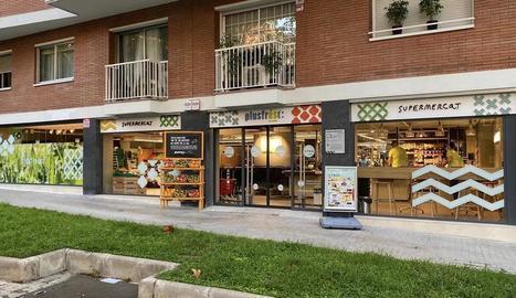 Imatge d'un dels nous supermercats oberts per Supsa l'any passat.
