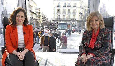 La Campos amb Díaz Ayuso.