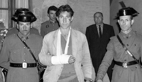 La més mítica foto del cèlebre delinqüent a l'Espanya dels 60