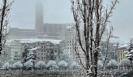 Un dissabte diferent a Lleida, el del dia 9 de gener del 2021.