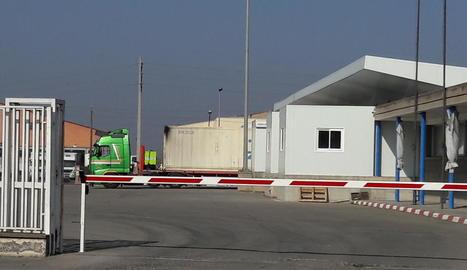 Les instal·lacions d'Edullesa el mes de febrer passat.