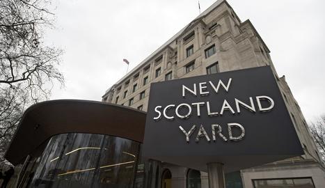 Vista de la sede de New Scotland Yard en Londres.