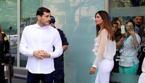 Iker Casillas i Sara Carbonero anuncien la seua separació