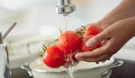 Rentar bé les verdures i fruites és fonamental