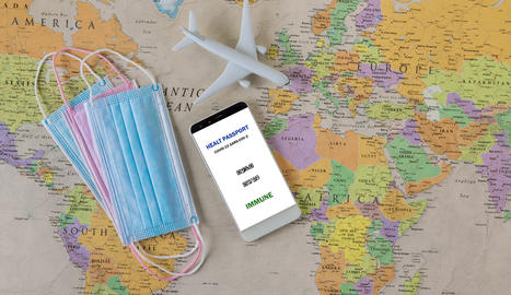 viatjar després d'una pandèmia amb passaport d'immunitat