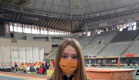 L'atleta Clàudia Martínez, del CE Pedala.cat.