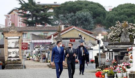 Sánchez i Macron van recordar els espanyols exiliats a França.