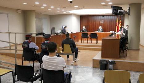 L'acusat de violar una dona a Lleida el 2017 diu que les relacions van ser consentides i ella ho nega