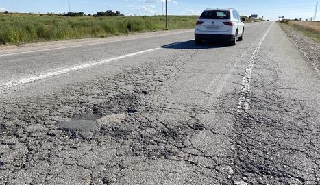 L'estat actual de la carretera.