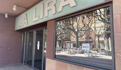 L'Espai Cultural La Lira de Tremp, tancat des de dilluns.
