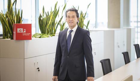 Víctor Guardiola és el conseller delegat de l'ICF.