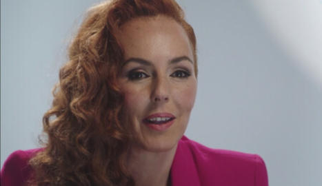 Rocio Carrasco Mohedama en el documental dramatitzat