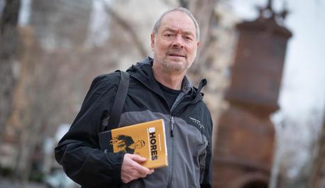 Pepe Gálvez, autor del guió de la novel·la gràfica '8 hores'.