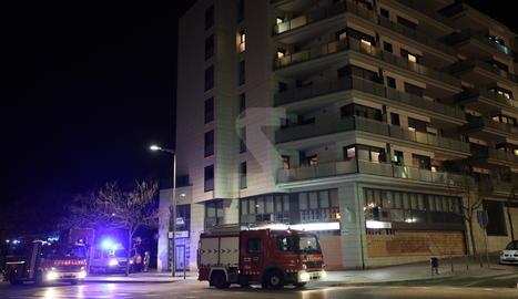 Dos incendis d'habitatges a Lleida