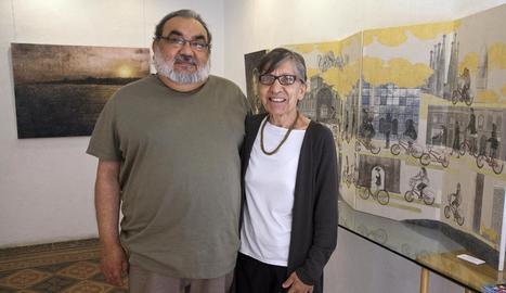 Pilar Porredon i Yago Serrano, premi Sikarra d'aquesta edició.