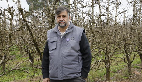 Joan Caball, coordinador nacional d'UP: «Defensem el pagès assentat al país»