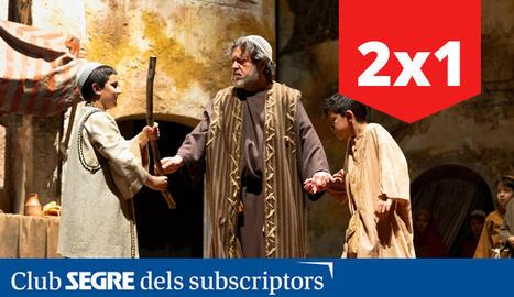 La Passió d'Olesa de Montserrat torna aquest 2021 amb tres úniques representacions i un muntatge inèdit.