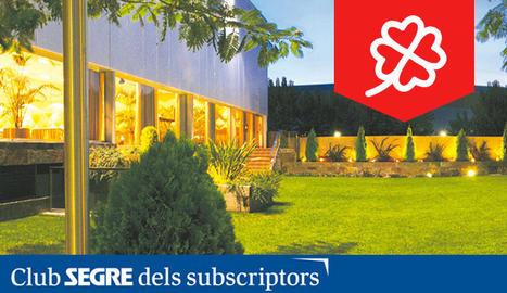 El Restaurant Resquitx, obert des de 1986, ofereix cuina de Lleida elaborada amb producte local.