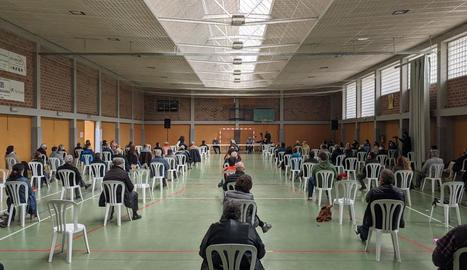 El públic que va assistir a la jornada celebrada a Isona.