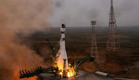 Llançament el passat 22 de març del nanosatèl·lit Enxaneta.