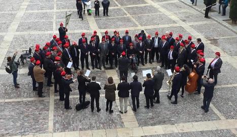 Última edició de les caramelles a la Seu d'Urgell, el 2019.