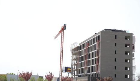 En els últims mesos ha augmentat la construcció d'habitatges.