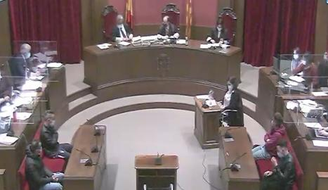 Vista de la sala extreta del senyal institucional.