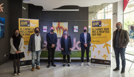 Presenten el nou Carnet Jove de Lleida