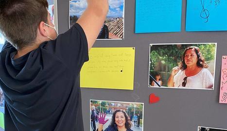 Emotiu homenatge pòstum a una professora de l'IES Canigó d'Almacelles