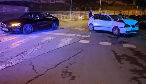L'accident es va produir divendres a la nit a l'encreuament de Cardenal Cisneros i Ronda.