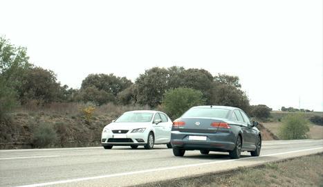 El vehicle circulava a 181 km/ en una carretera on la velocitat màxima és de 90 km/h