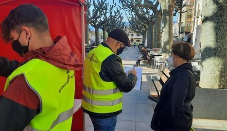 La consulta es va iniciar ahir i es va fer a peu de carrer.