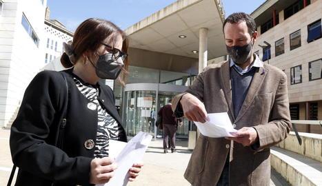 En Comú Podem de Lleida demana la dimissió de tres diputats per les presumptes irregularitats a la Diputació l'any 2017