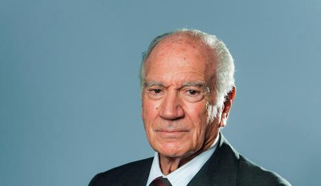 L'expresident de la firma Puig, Mariano Puig. Imatge del 13 d'abril de 2020