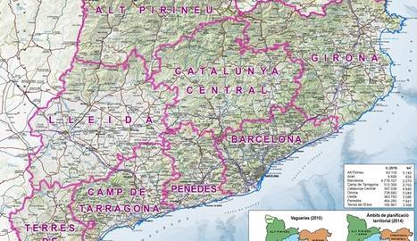 Mapa de vegueries