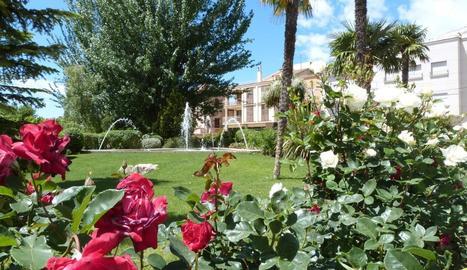 El parc del Terrall de les Borges Blanques.