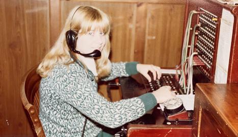 Isabel Moya va començar com a telefonista de la Diputació