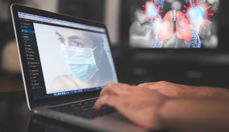Les consultes sobre covid en webs anticipen la següent onada de la pandèmia.