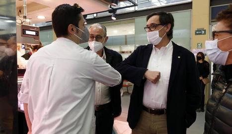"""El PSC demana als partits independentistes fer """"un pas al costat"""" i permetre una """"majoria d'esquerres"""""""