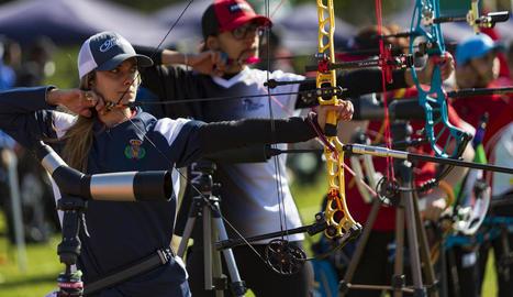 Alguns dels participants en el Gran Premi, durant la competició.