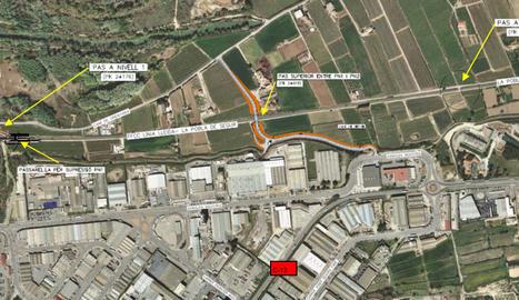 Construiran un baixador ferroviari al polígon de Lleida i reodenaran l'entorn