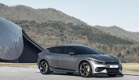 Primer cotxe elèctric amb bateria produït amb la nova plataforma, és capaç de recórrer més de 510 quilòmetres amb una sola càrrega.